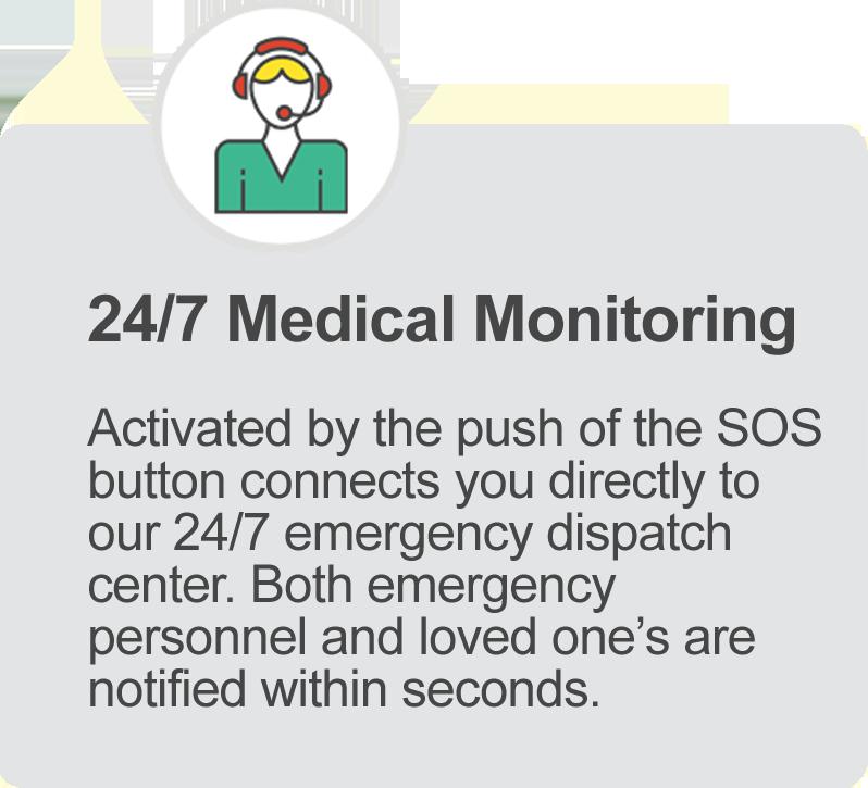 iGPS Phoenix Watch 24-7 emergency monitoring center feature
