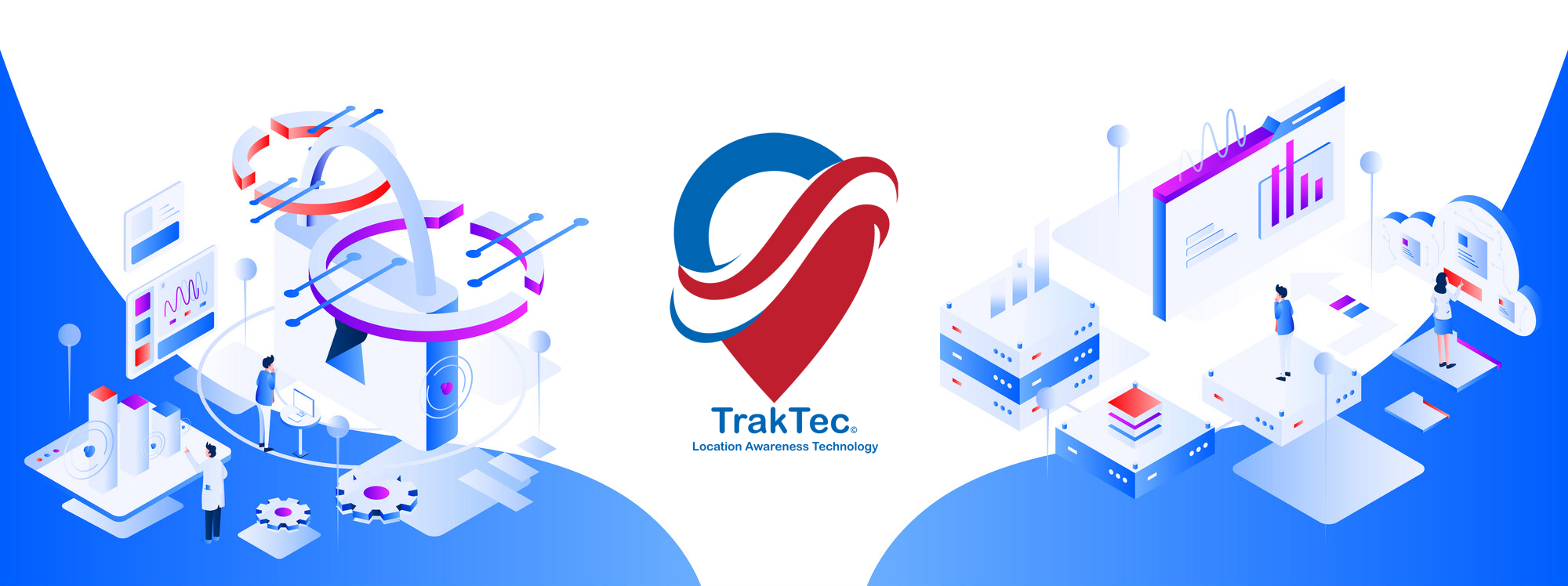 TrakTec Location Awareness Technology Banner Image Big Data